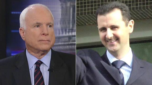 McCain: We would be directly responsible for Syrian massacre