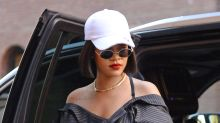 Rihanna's Plastic Heels Will Make You Sweat Just Looking At Them