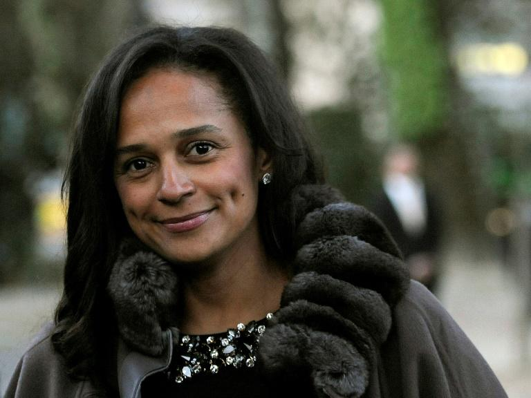 In the spotlight: Isabel dos Santos (AFP Photo/FERNANDO VELUDO)