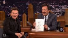 'Glee' Star Describes Encounter with 'Adorable' Alien on 'The Tonight Show'