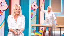 This Morning guest appears to lets slip that Holly Willoughby is pregnant live on TV