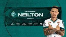 Coritiba anuncia a chegada do atacante Neilton