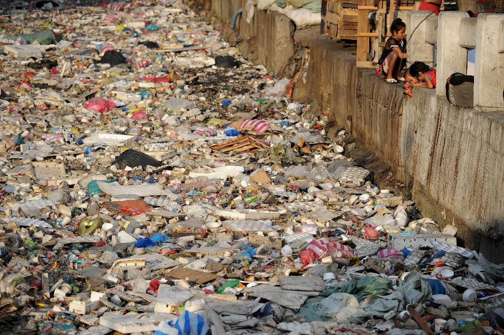 Forty of the world's biggest companies agreed on Monday to come up with cleaner ways to make and consume plastic as waste threatens the global ecosystem, especially in oceans