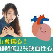 「不夠鎂」會傷心!研究:這樣做降22%心臟風險