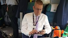 Rail boss condemned for ordering commuters out of first class carriage on late and packed train