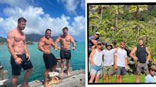 Liam Hemsworth Enjoys Family Holiday With Chris Hemsworth A Year After Miley Cyrus Split