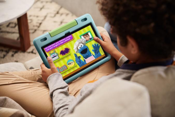 Amazon sale fire HD kids tablet