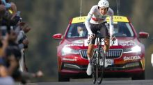 Tadej Pogacar poised to claim Tour de France crown as Primoz Roglic crumbles