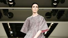 Erin O'Connor twirling in sequins delights Molly Goddard attendees - including Mayor Sadiq Khan