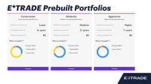 E*TRADE Prebuilt Portfolios Deliver a Selection of Funds in a Few Easy Clicks