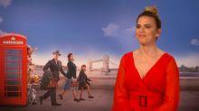 """Hayley Atwell estrena 'Christopher Robin': """"No puedes tener un mal día cuando estás en un set como este"""""""