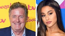 Ariana Grande hopes to turn Piers Morgan into a feminist as they end their feud