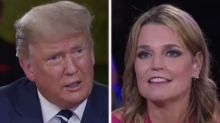 Savannah Guthrie Pushes Trump on QAnon, Conspiracy Theories: 'You're Not Like Someone's Crazy Uncle Who Can Just Retweet Whatever!'