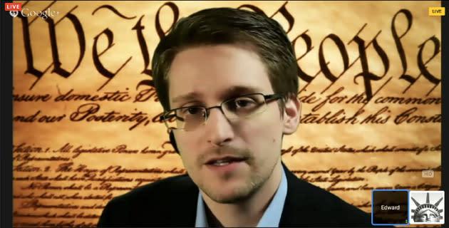 Watch Edward Snowden's SXSW virtual conversation right here (updated)