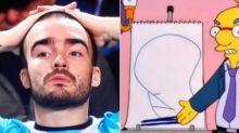Hincha argentino se tatuó 'la dignidad' según Los Simpson y se viralizó en las redes