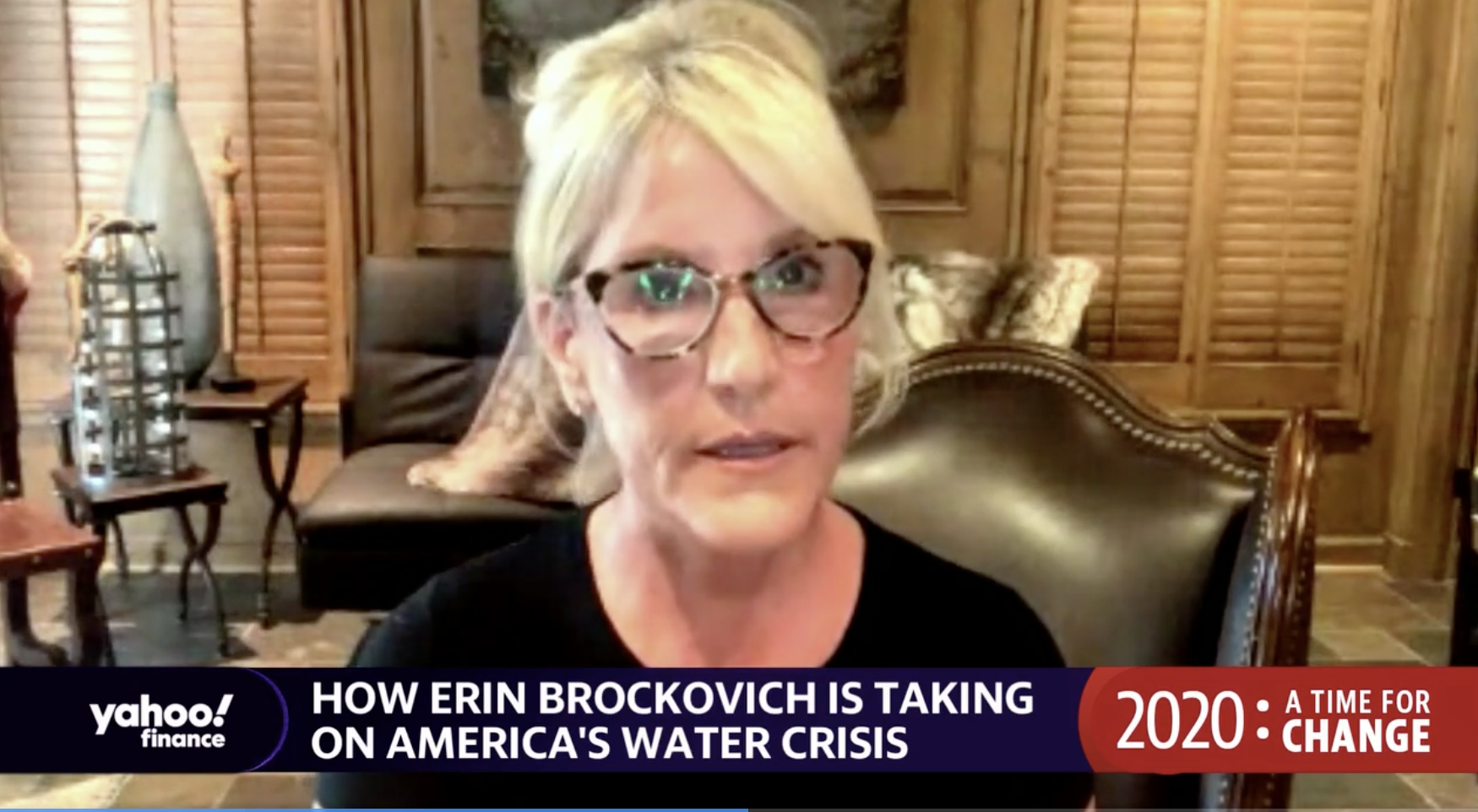 Erin Brockovich: 'We're in big trouble if we don't start taking action' on climate change