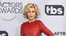 Actress Jane Fonda arrested after taking part in a climate change protest