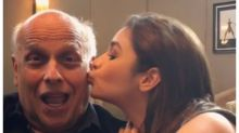 This video of Alia giving a peck on daddy Mahesh's cheek will make you want to spend quality time with your father!