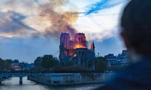 TV tonight: the fire that destroyed Notre Dame cathedral