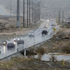 The Latest: California storm cancels Santa Anita horse races