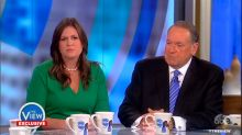 'The View' hosts clash with Mike Huckabee and Sarah Sanders over Trump