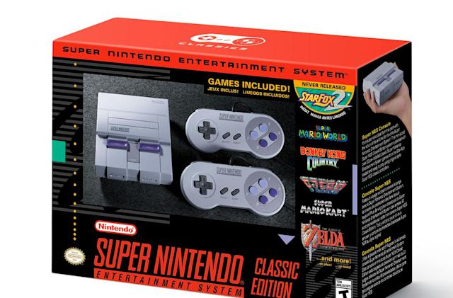 Walmart cancels early SNES Classic Edition preorders