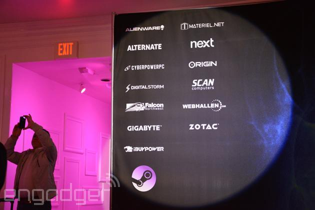 Here are Valve's 14 Steam Machines partners (so far)