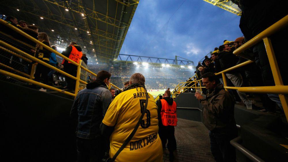 Dortmund v Monaco postponed following explosion near team bus