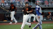 Giants beat Rangers 7-3 despite starter Smyly's injury