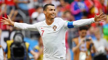 Ronaldo strike dumps Morocco out of World Cup