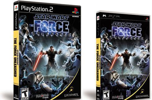 Joystiq hands-on: Star Wars: The Force Unleashed (PS2/PSP)