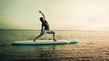 Surf-Yoga: Das Yogaboard für zu Hause