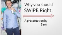 University student, 21, wins the Internet with PowerPoint presentation Tinder profile