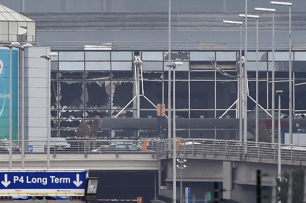 Brussels airport was shut for more than a month after the bomb blasts in main terminal (AFP Photo/JOHN THYS)