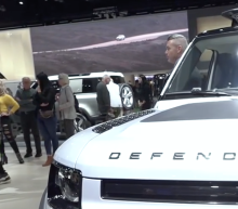 Land Rover debuts the new Defender at the LA Auto Show
