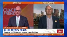 Click Frenzy could save you 70 percent on next holiday