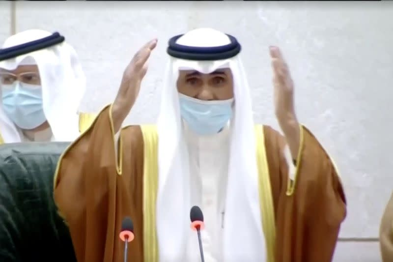 Kuwait's new emir takes oath, calls for unity at tense time for region