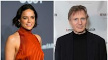 Michelle Rodriguez Says Liam Neeson Isn't A Racist Because He's Kissed Viola Davis