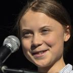 Greta Thunberg apologises after saying politicians should be 'put against the wall'