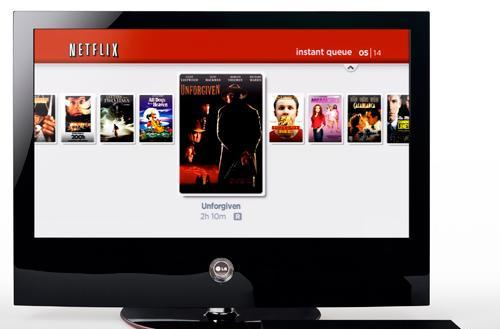 LG to release first HDTVs that instantly stream movies from Netflix