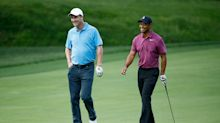 Report: Tiger Woods, Phil Mickelson may play tournament with Tom Brady, Peyton Manning