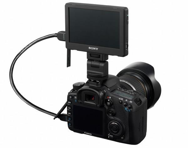 Sony outs CLM-V55 video monitor for interchangeable lens cameras