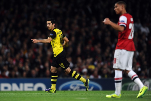 As it happened: Arsenal v Borussia Dortmund, Champions League