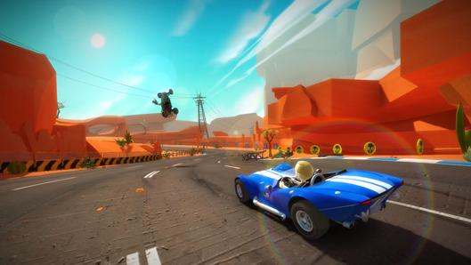 Kinect Joy Ride review: Driving in the 'so?' lane