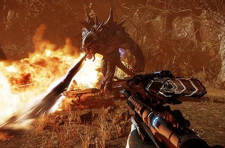 Evolve's latest footage hunts alone