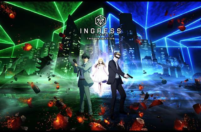 The anime adaptation of mobile game 'Ingress' is now on Netflix