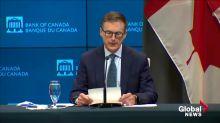 Coronavirus: Bank of Canada Governor says COVID-19 created 'unprecedented fall in economic activity'