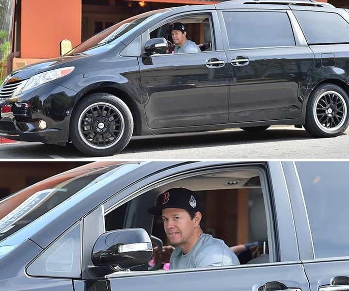 Exceptional Mark Wahlbergu0027s Swagger Wagon: Custom Toyota Sienna Minivan