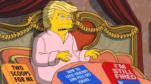 'The Simpsons': Donald Trump Gets A Thank-You From Richard Nixon's Ghost