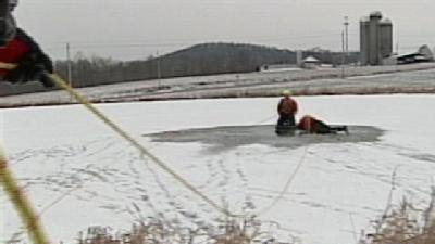 Officials: Stay Off The Ice